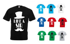 Hats Off To You, Like A Sir inspired Men's Printed T-Shirt