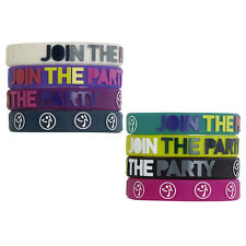 Zumba Fitness ~ JOY RUBBER BRACELETS ~ 8 Pack ~ NEW NWT ~ Great Buy!