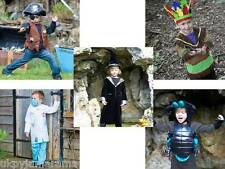 Boys Children's Pirate Indian Doctor Alien Wizard Fancy Dress up Costume Outfit