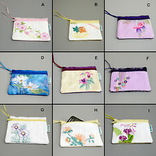 New Embroidered Ekard Wrist Purse Mobile Phone  Pouch  Credit Card Wallet K803