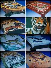 Blanket/Throw Large Size 200cm x 240cm Animal Print Faux Fur Fit Sofa/Bed