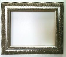 """2"""" Wide Silver Ornate  Furniture Quality Picture Frames for Paintings"""