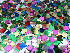 MOSAIC SQUARE CRAFT SEQUINS CONFETTI WEDDING TABLE PARTY CARD MAKING 4/10/20/50G