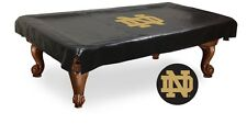 Notre Dame Fighting Irish ND Black Pool Table Cover by HBS