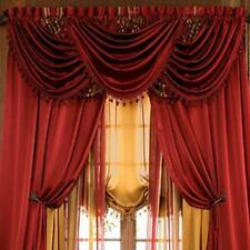 Luxurious HILTON WINDOW TREATMENT,window curtain: Panel OR valance,