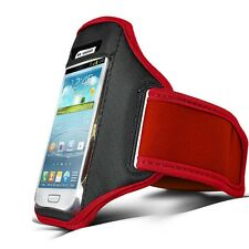 Red Running Sport GYM Armband Case Cover for Various Phones Phablet new 2014 1st