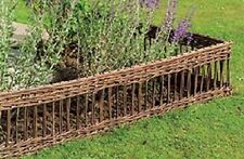 """Pick your Pattern of Willow Edging, Sold Set of 2 pcs, size for each 16""""H x 48""""W"""