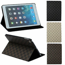 Deluxe PU Phone Protector Flip Covers Skins Cases Stand For Apple iPad Air 5 5th