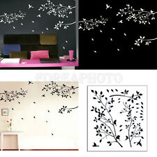 Newest Stylish Wall Decal Sticker Tree Branches Birds Room Art Mural Home Decor