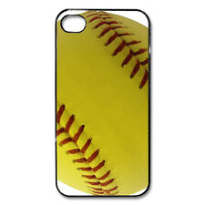iPhone 4 4s 5 5c 5s 6 case softball baseball FREE PERSONALIZATION name number