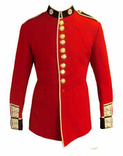 British Army - COLDSTREAM GUARDS TROOPER TUNIC - Red Ceremonial Tunic - Used