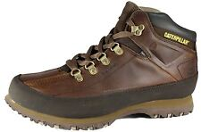 Caterpillar Mens Brown Restore lace up Leather Boot Size UK 6-11