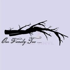 OUR FAMILY TREE Wall Decal Wall Sticker Home Family Wall Art Decal Living Room