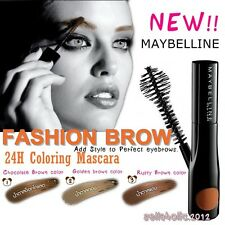 *NEW* MAYBELLINE FASHION BROW 24H COLORING *3 Colors Available* Eyebrow mascara