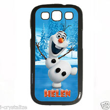 Personalised Customised Olaf Cases For Samsung Galaxy Phone Range Disney Frozen