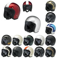 *Ships Same Day* Biltwell Bonanza Open Face Motorcycle Helmet (Black, Racer...)