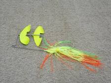 McBASSIN CUSTOM LURES COUNTER-STRIKE PRO BUZZBAIT - CHARTREUSE PERCH