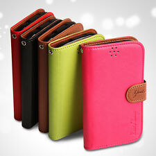 Samsung Galaxy Note3 Neo N7505 N750 TINA Stand Color Wallet Phone case Cover NEW