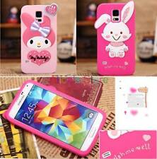 New Cute Melody Rabbit Silicone Case Cover for Samsung Galaxy SV S5 I9600