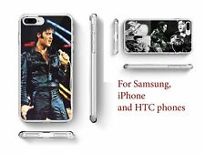 Elvis Presley Rock Quote hard back phone case for Samsung Galaxy S3,S4, Mini, S5