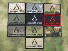 Assassin's Creed Tactics Morale Embroidery Patch Multicam ATACS ACU Black