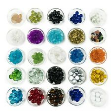 Vase Fillers: Crushed Glass Crystal Sand Shards, 16 bags (1-lb/bag), Decoration