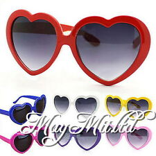 Fashion Retro Summer Heart Shape Design Lolita Sunglasses Eye Glasses H