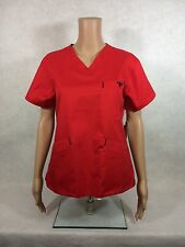 Med Couture Signature Scrub Top. Style 8403. Cherry/Black. *NEW*  **Free Ship**