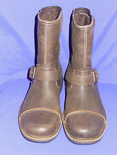 UGG Mens Size 7  Rockville II Leather Motorcycle Boots  DUNE New!