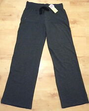 Women's Full Length Stretch Track Pants Charcoal Marle Size 10,12,14,16