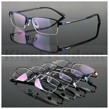 35mm Vintage Small Round Eyeglass Frame Clear Glasses Alloy Spectacles RX UNI