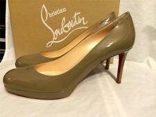 Christian Louboutin NEW SIMPLE PUMP 85 Patent Leather Platform Heels Shoes $775
