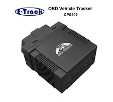 GPS vehicle tracker OBD II GPS306,TK306 OBD 2 GPRS real time,car diagnostic tool