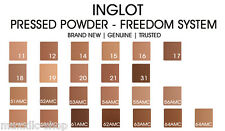INGLOT PRESSED POWDER  All Skin Full Size REFIL for FREEDOM SYSTEM  MAKEUP