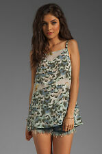 New Winter Kate Ring Tank Butterflies by Nicole Richie Small   Retail $135