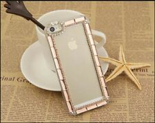 E050 New Fashion Bling Crystal Hard Back Cover Case For iPhone 4G/5G/5C Case AU