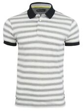 French Connection/ FCUK Jeffreys Stripe Short Sleeved Polo T-Shirt