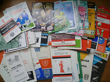 1964-1999 - Touring Rugby Union Programmes to the British Isles.