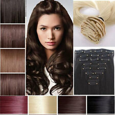 Beauty lady Full Head 145g Clip in Hair Extensions 8 Piece18 clips on US Ship hs