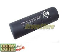 Airsoft Stubby Killer 110mm Barrel Extension 14mm CW / CCW 2 COLOUR
