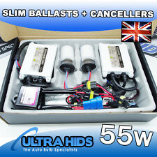 55w CANBUS ERROR FREE HID XENON CONVERSION KIT SILICONE METAL BALLAST BULBS UK