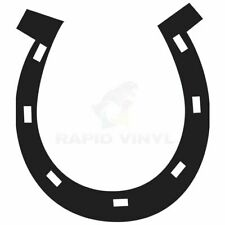 HORSESHOE HORSE SHOE Car Truck Boat RV Decal, Window Sticker, Window Decal