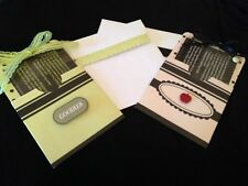 RECIPE CARD HOLDER WITH COOKIES IN A JAR RECIPE HANDCRAFTED ENVELOPE INCLUDE