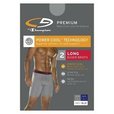 C9 by Champion® Men's 2 pk Long Boxer Briefs - Grey