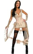WOMENS SEXY WESTERN PROSTITUTE BURLESQUE JONAH HEX LILAH FANCY DRESS COSTUME
