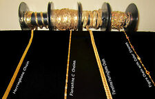 14 KARAT GOLD FILLED CHAIN  BY THE INCH - CUSTOM MADE TO YOUR CHOICE OF LENGTH