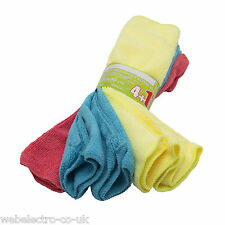 56007 5x Microfibre Super Absorbent Cleaning Cloths Cleaner Kitchen Car Window