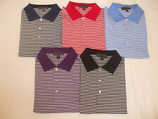 NEW MEN'S PETER MILLAR S/S COMPETITION STRIPE JERSEY POLO, LARGE, PICK A COLOR