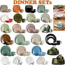16 Or 32pcs Dinner Set For Dining Tableware Plates/Cups/Bowls In Various Designs