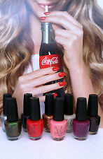 NEW OPI nail polish Summer 2014 Coca Cola Collection - Choose Your Colors